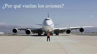 ¿Por qué vuelan los aviones?