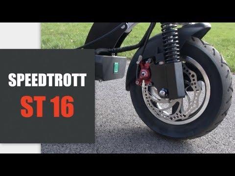SpeedTrott ST16, une Puissante Citadine au Grand Confort