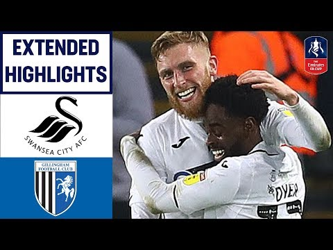 The Swans end Gillingham's FA Cup Dreams! | Swansea 4-1 Gillingham | Emirates FA Cup 2018/19