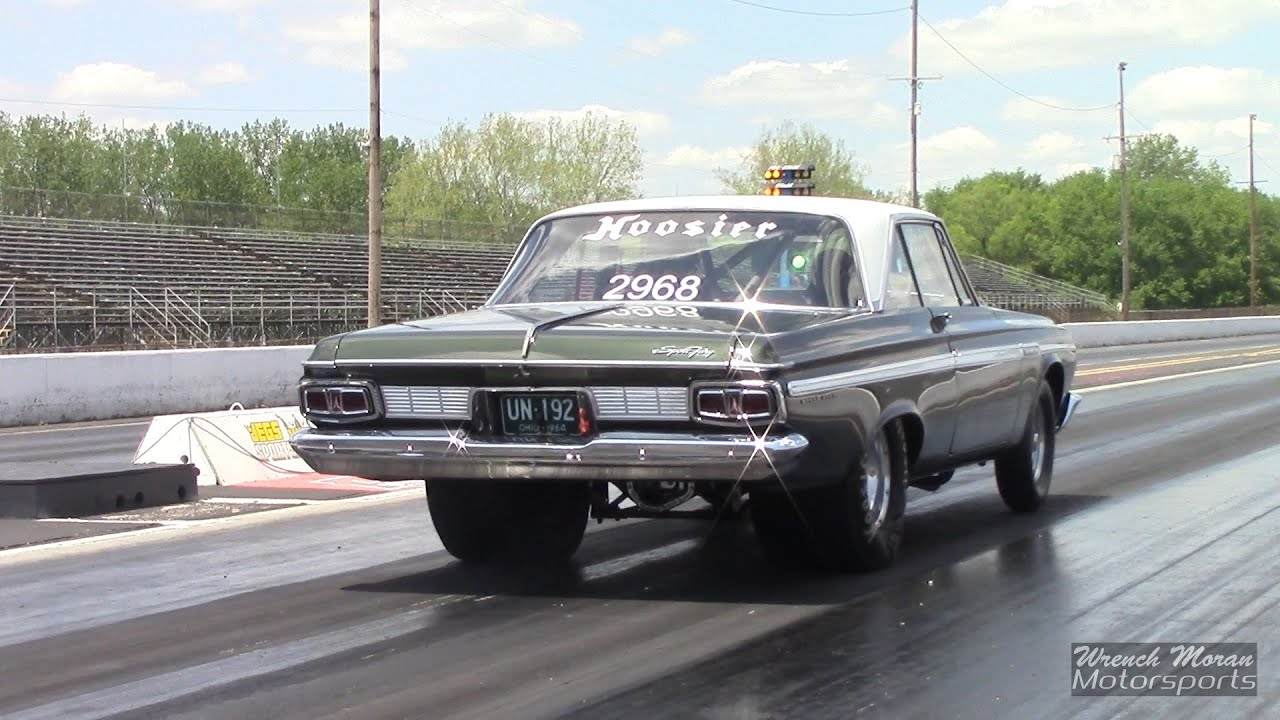 1964 Plymouth Sport Fury Drag Racing   YouTube