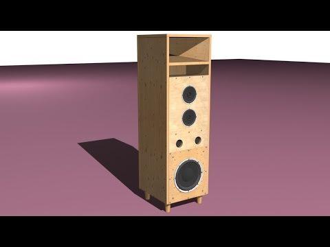 видео: Акустическая колонка своими руками. Корпус расчитан под активную акустику, хороший бас.