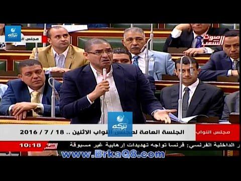 مشادة كلامية بين النائبين أحمد طنطاوي ومحمد أبو حامد
