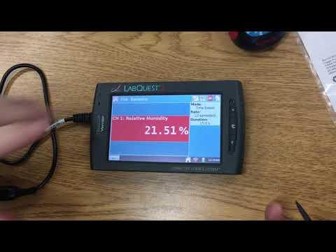 Vernier LabQuest Humidity Sensors