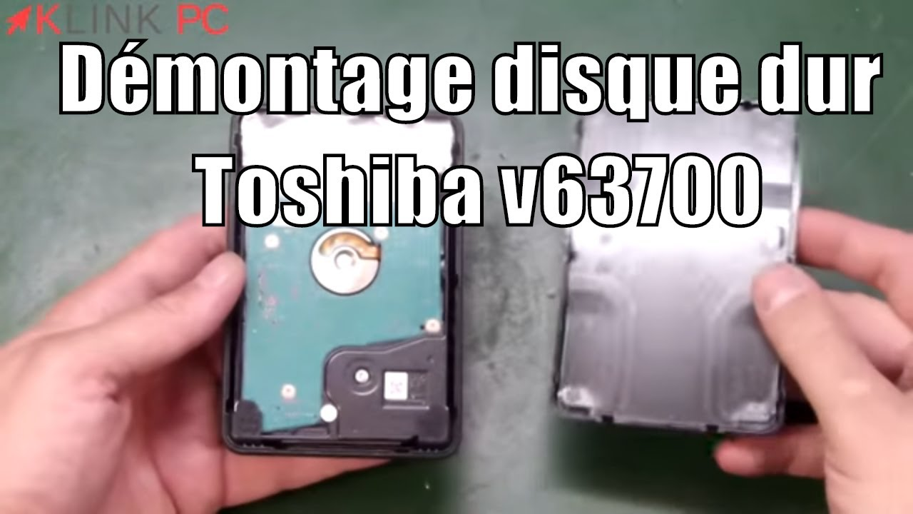tuto comment ouvrir un disque dur externe toshiba v63700 how open an hd toshiba v 63700 youtube. Black Bedroom Furniture Sets. Home Design Ideas