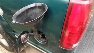 Какой расход  бензина на шевроле субурбан, мотор 7.4 тби, на холостом ходу за час