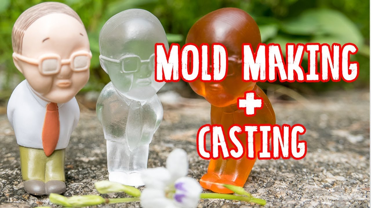 How to duplicate your favorite toy with mold maker and cast with epoxy  resin - Malaysia Clay Art
