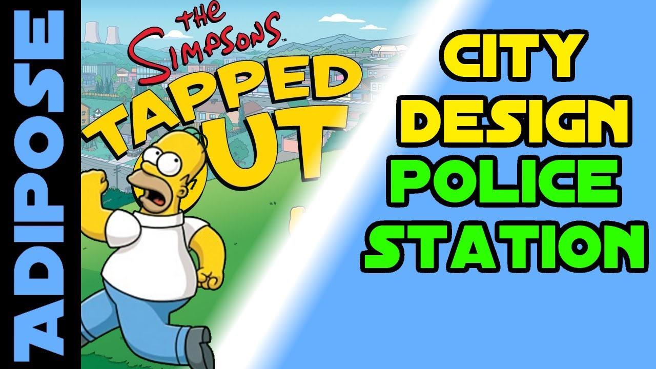 Simpsons tapped out police station city design youtube - Police simpsons ...