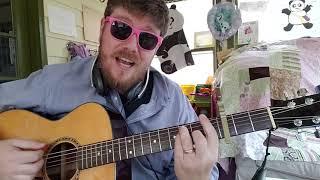 BIBA - Marshmello x Pritam, Shirley Setia, Shahrukh Khan // easy guitar tutorial beginner lesson