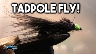 Video FLY TYING - Black and Green Tadpole for Trout Fishing | TAFishing download MP3, 3GP, MP4, WEBM, AVI, FLV Agustus 2018