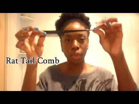 Natural Hair- Two Strand Twists On Dry Hair (First attempt)