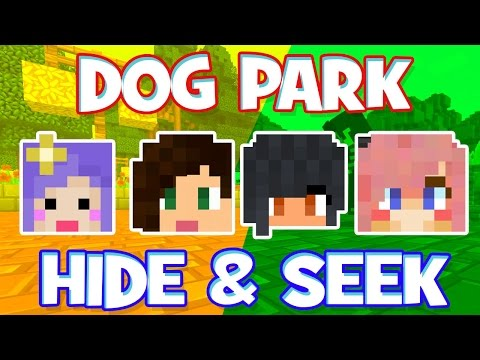 DOG PARK HIDE & SEEK w/Stacy, Lizzy, & Aphmau!