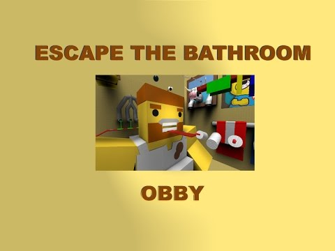 Escape The Bathroom From Guava Juice escape bathroom obby on roblox - youtube