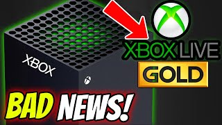 Bad News For Xbox Live Gold Changes & Free Multiplayer On Xbox Series X!