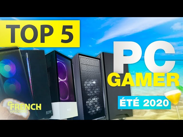 TOP 5 PC GAMER PAS CHER 2020 ! (600€, 800€, 1000€, 1250€, 1500€)