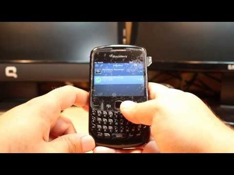 WhatsApp messenger install to Blackberry curve 8520