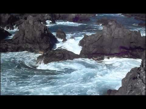 Sounds of Nature - Atlantic  Ocean waves on rocky beach
