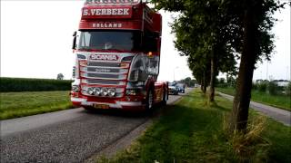 Best of Scania V8 Sound compilation
