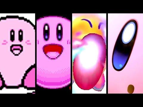 Kirby Evolution of KIRBY'S COPY ABILITY 1993-2018 (Star Allies to NES)