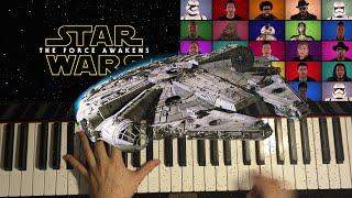 34 Star Wars The Force Awakens 34 Cast MEDLEY
