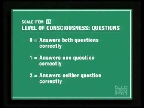 3. NIHSS: LOC Questions