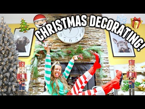 DECORATE FOR CHRISTMAS WITH ME! Room Decor For The Holidays!