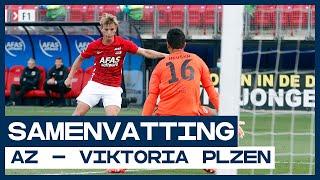 AZ jaagt op CL-ticket | Samenvatting AZ - Viktoria Plzen | Voorronde Champions League