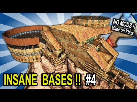 Ark INSANE BASES SHOWCASE Part 4 Ark Survival Evolved Base B