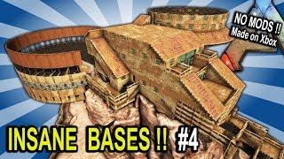 Ark INSANE BASES SHOWCASE Part 4 Ark Survival Evolved Base Build Showcase