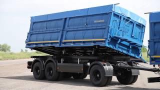 Автопоезд самосвал зерновоз на шасси КАМАЗ-65117 с трехсторонним прицепом от Штурман Кредо+(Автопоезд зерновоз предназначен для перевозки зерна. Передний борт цельный, жестко прикреплен к основанию...., 2013-07-11T06:51:28.000Z)