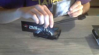 Unboxing + Test Microphone Trust GXT 210