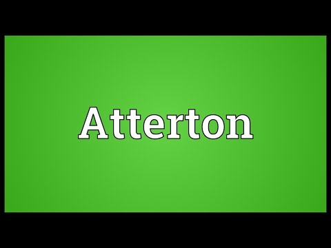 Atterton Meaning