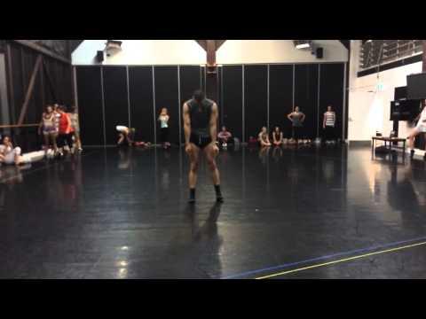 'Elastic Heart' Lyrical Contemporary - Chris Mifsud @ Sydney Dance Company (Elastic Heart by Sia)