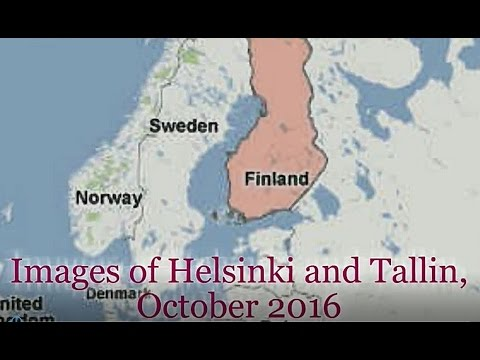 Images of Helsinki and Tallin - October 2016