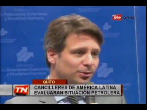 Cancilleres de América Latina evaluarán situación petrolera