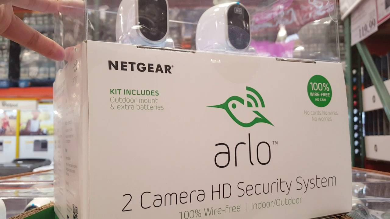 Costco - Arlo - Netgear 2 Camera HD Security System!