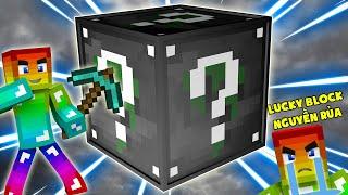 Lucky Block Nguyền Rủa ??? Minecraft Thử Thách Noob