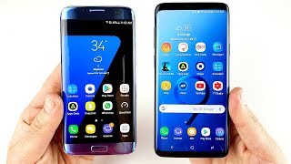 Galaxy S7 Edge vs Galaxy S9 Plus