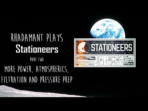 Stationeers Tutorial Part 2 - More Power, Atmospherics, Filtration and Pressure Prep