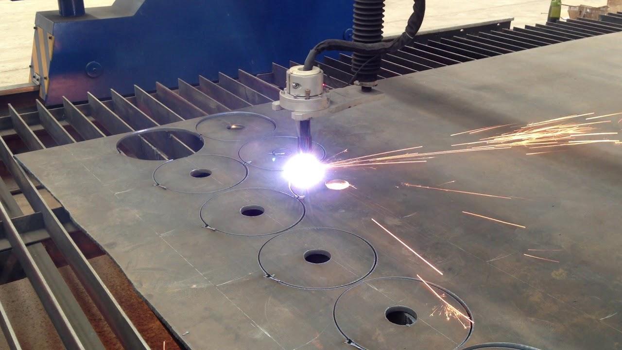 gantry type cnc plasma cutter machine