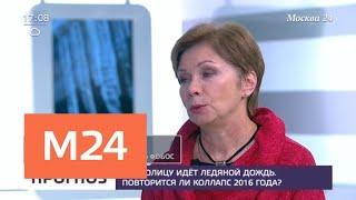 Смотреть видео Ледяной дождь с столице может начаться в вечернее время - Москва 24 онлайн
