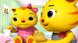 Sick Song!   Nursery Rhymes & Kids Songs!   Videos For Kids   ABCs and 123s