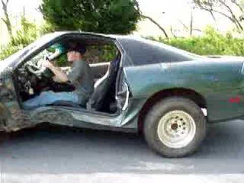 1979 Mustang Wiring Diagram 94 Camaro Z28 Wrecked Burnout Youtube