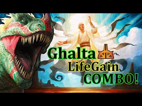 Modern Ghalta LifeGain COMBO Deck – NEW from RIX!