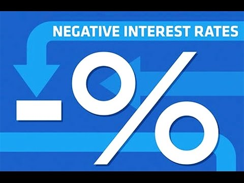 Member Update 2/16/16 Negative Rates