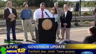 Governor Christie in Manville Provides Update to New Jersey