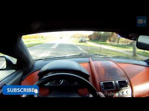 POV: Aston Martin DB9 5.9 V12 GREAT! OnBoard Acceleration
