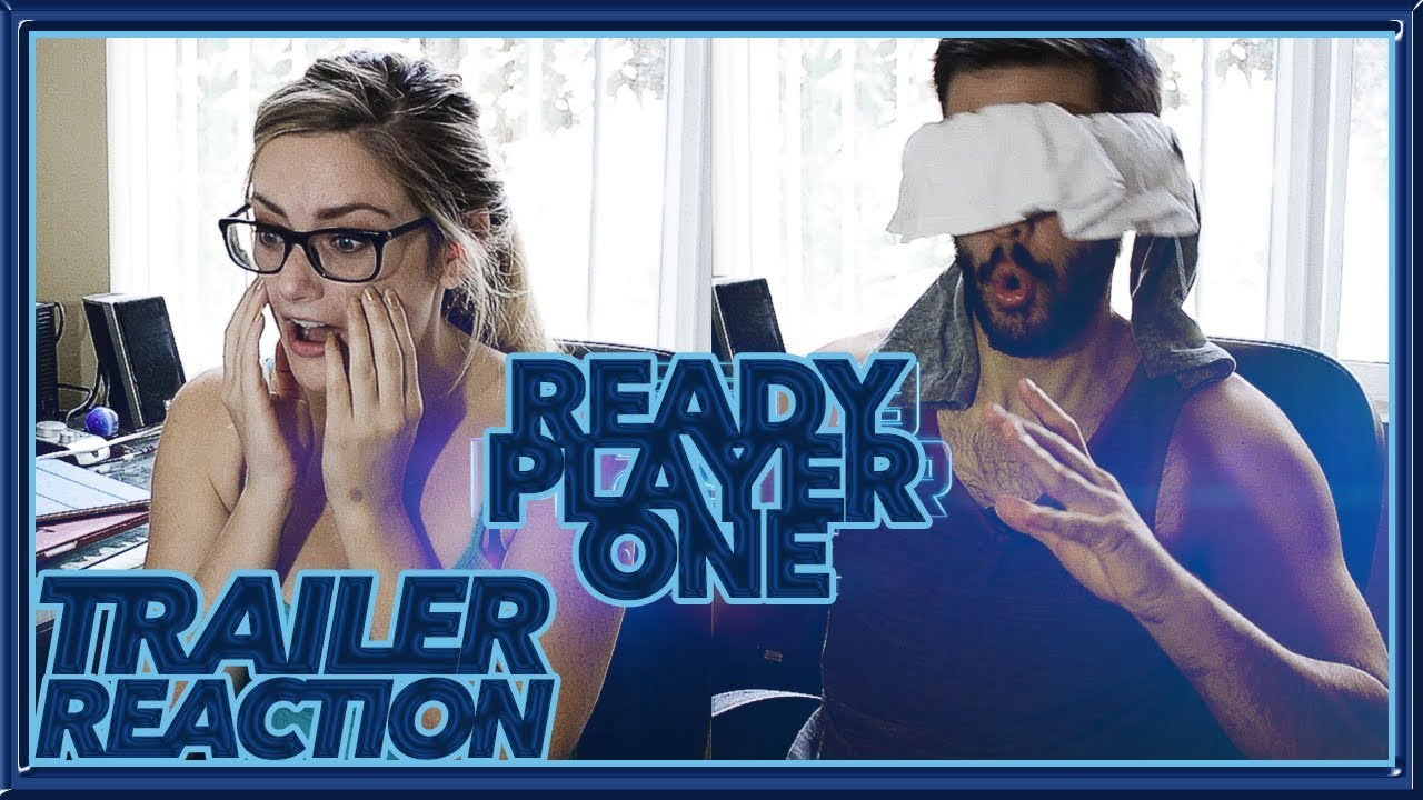 Official Ready Player One Trailer Reaction Sensory Deprivation