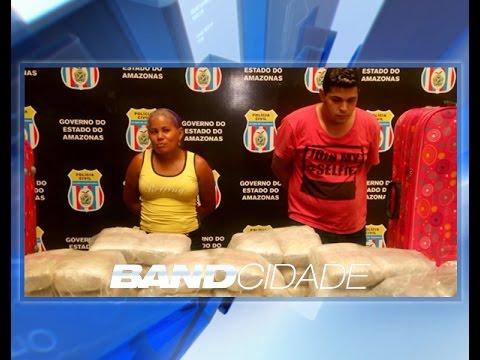 Polícia Civil apresenta preso em flagrante por tráfico de drogas