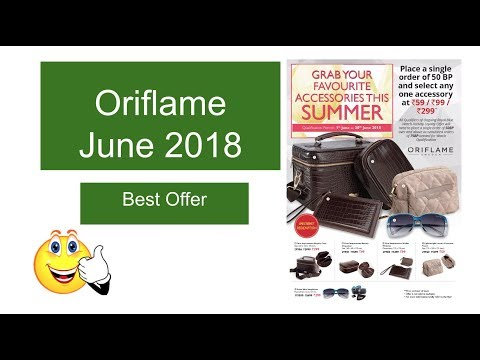 Oriflame June Offer   Special June Flyer Activity Offer June 2018 Oriflame india