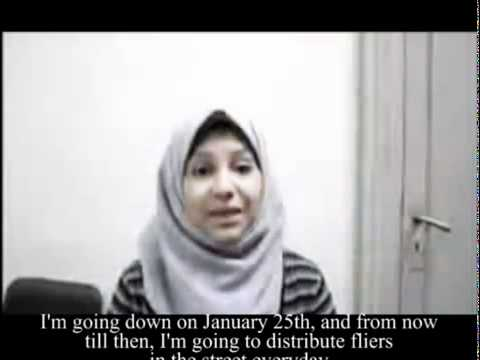 Asmaa Mahfouz and the vlog that spark the Egypt Revolution
